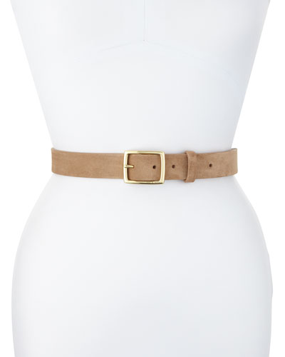 Leather Boyfriend Belt