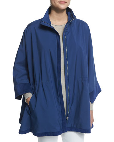 Bloomsbury Windmate Reversible Cape, Bluette