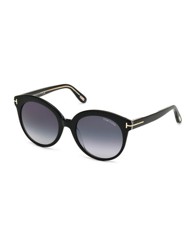 Monica Universal-Fit Cat-Eye Sunglasses