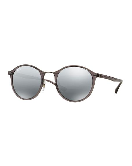 b7dc3ef0fa8da Ray-Ban Round Mirrored Metal-Bridge Sunglasses