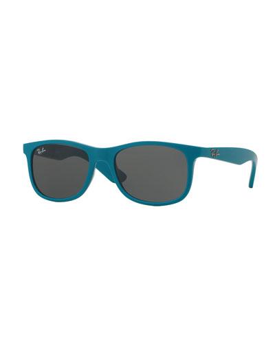 Junior Wayfarer Sunglasses, Turquoise