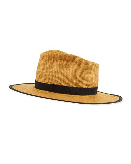 Trimmed Straw Hat, Cafe