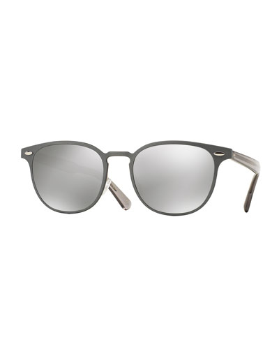 Sheldrake Square Metal Sunglasses