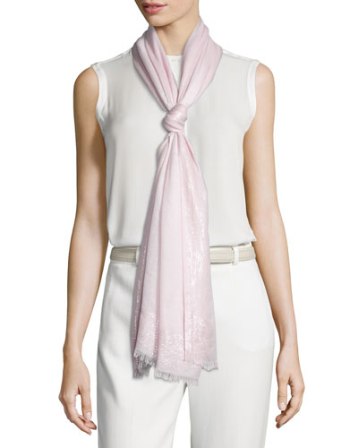 Luna Soffio Evening Stole, Pink