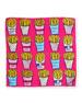 Mini Twill Fries Scarf, Pink