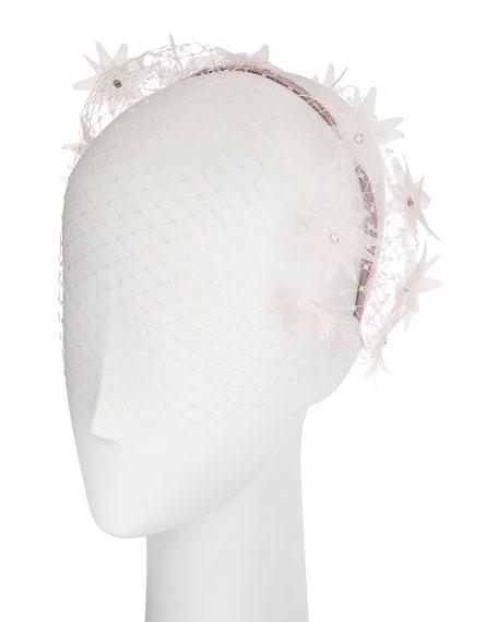 Gigi Burris Dune Voilette Headband/Fascinator