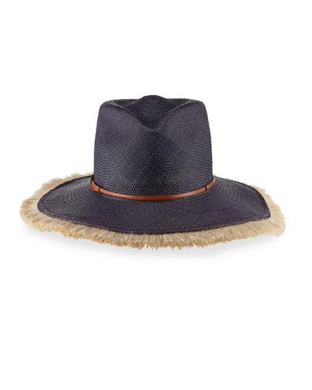 Fringy Beach Fedora Hat