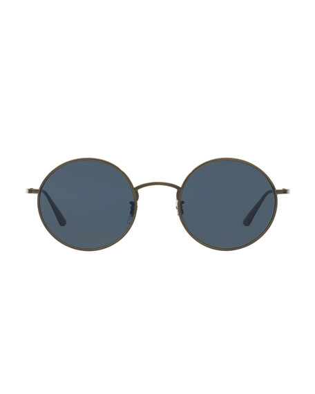 2a3a2ca97f Oliver Peoples The Row After Midnight Round Sunglasses