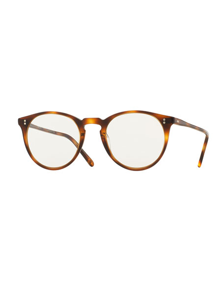 0a87b099b6 Oliver Peoples O Malley NYC Peaked Round Photochromic Sunglasses ...