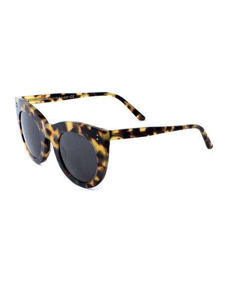 Boca Cat-Eye Sunglasses, Tortoise