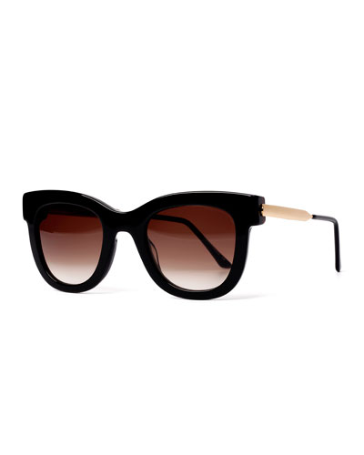 Sexxxy Butterfly Sunglasses  Black