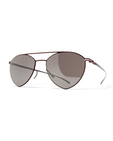MYKITA + Maison Margiela Essential Angular Aviator Sunglasses,