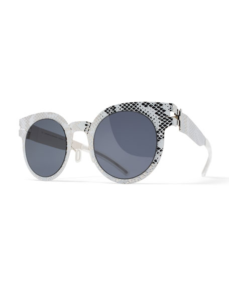MYKITA + Maison Margiela Transfer Rounded Square Embossed