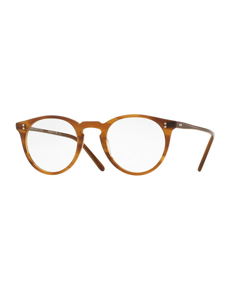 O'Malley Round Optical Frames, Brown