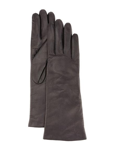 Portolano Napa Leather Gloves, Brown