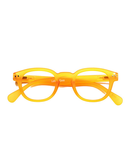 Let Me See Square Readers, Yellow