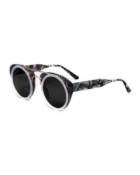 65a4b2e550 Smoke X Mirrors Soda Pop Round Sunglasses