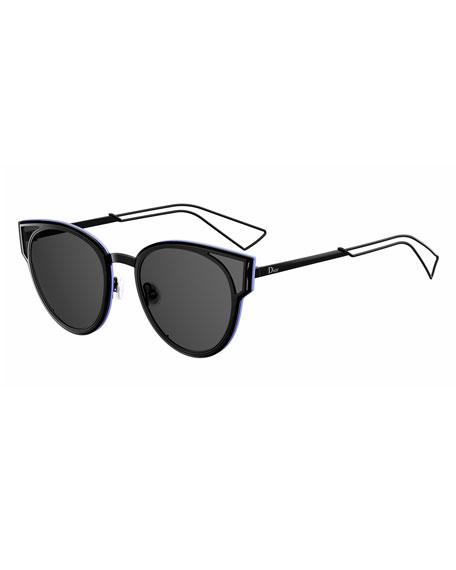 10bf76a9b9c Dior Sculpt Cat-Eye Sunglasses