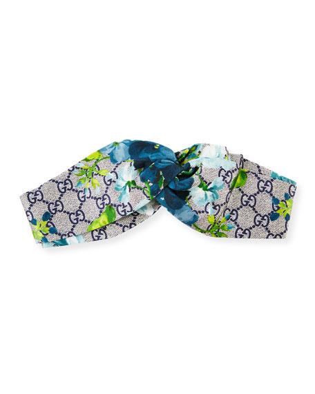 490ce78d0c3 Gucci GG Blooms Silk Headband