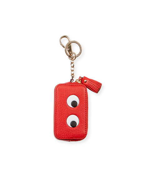 Eyes Coin Purse, Red