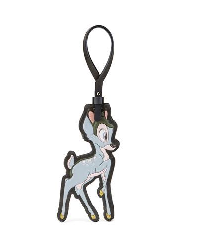 Bambi® Leather Keychain, Multi