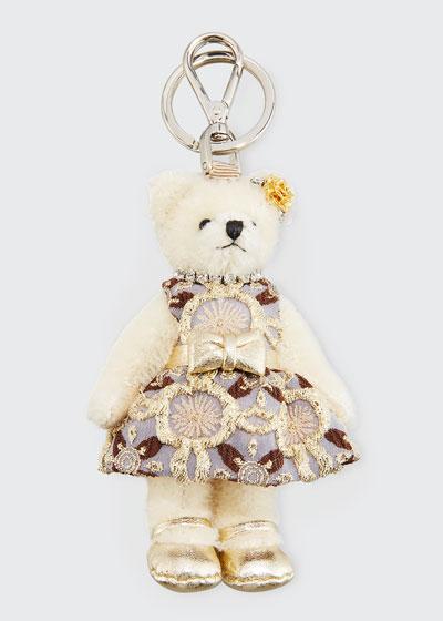 Linda Bear Keychain with Party Dress
