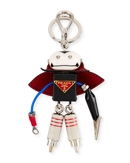 Vlad Robot Key Chain, Black
