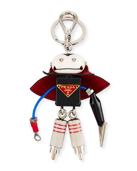 Vlad Robot Key Chain, Black
