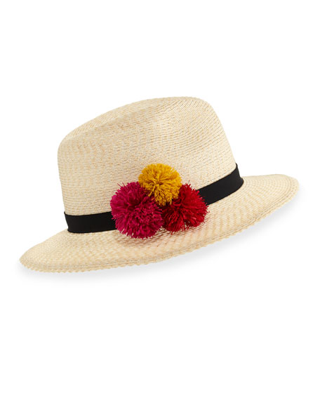 Eugenia Kim Lillian Hemp-Blend Fedora Hat, Ivory