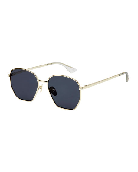 Ottoman Geometric Metal Sunglasses
