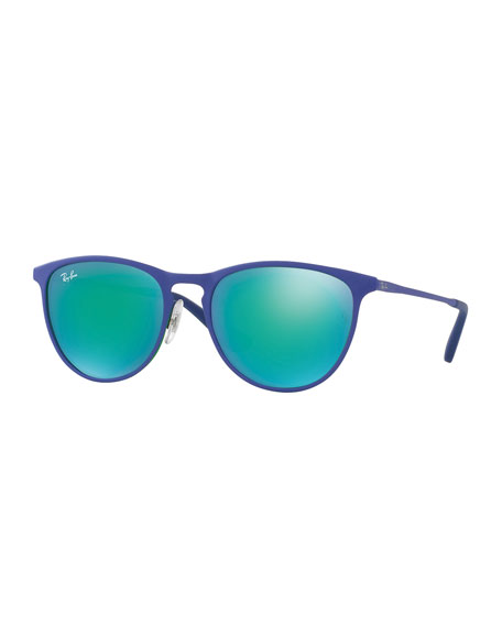 Ray-Ban Junior Erika Mirrored Rounded Square Sunglasses