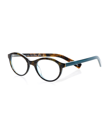 43a448896a Eyebobs Soft Kitty Two-Tone Rounded Cat-Eye Readers