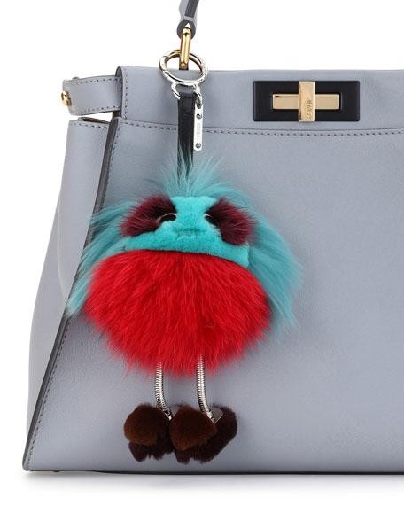 Fendi Dad Bag Charm - Green IXB5e