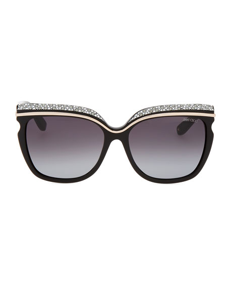 Sophia Embellished Sunglasses