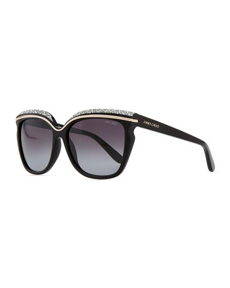 Sophia Embellished Sunglasses
