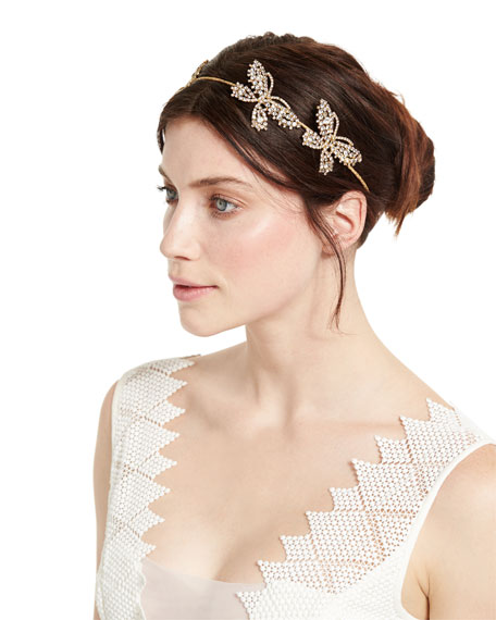 Mariposa Crystal Circlet Headband