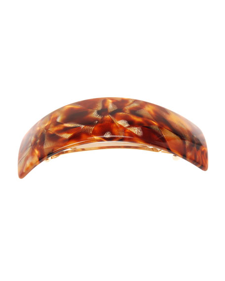 THE FINEST ACCESSORIES RECTANGLE VOLUME HAIR BARRETTE