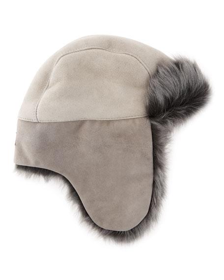 8bde761b280fc UGG Toscana Long-Pile Fur Trapper Hat