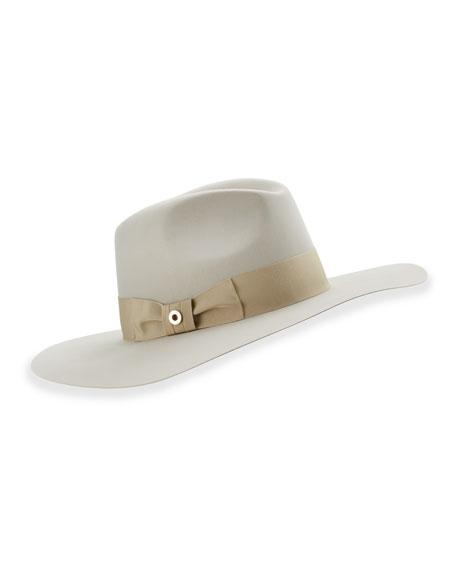 Kim Velvet Felt Floppy Hat