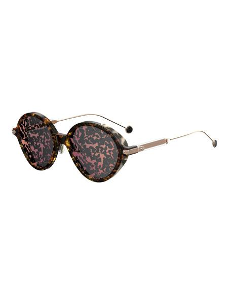 Dior Umbrage Round Printed Sunglasses