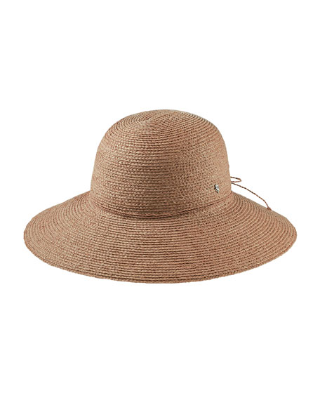 Helen Kaminski Delphina Round Raffia Sun Hat