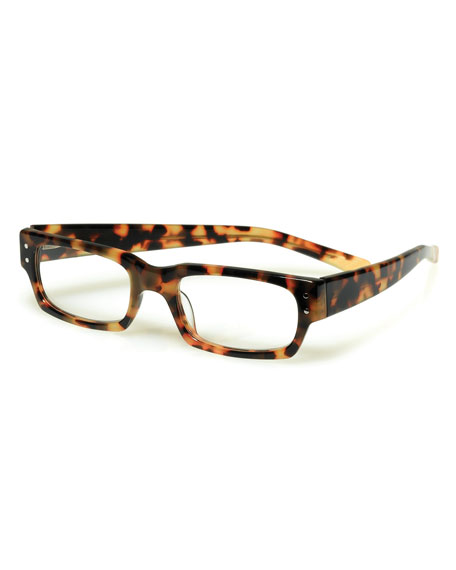 Peckerhead Rectangular Readers, Tortoise