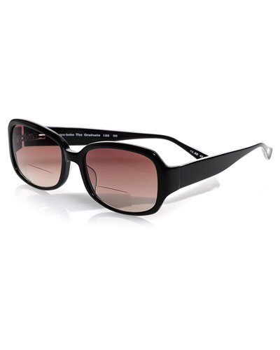 Graduate Square Sun Readers, Black/White