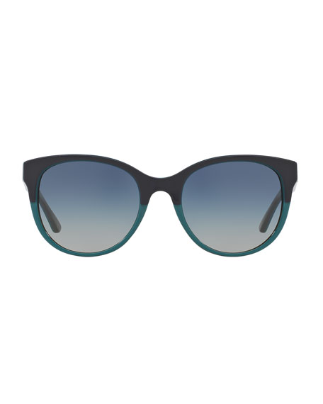 Square Two-Tone Sunglasses