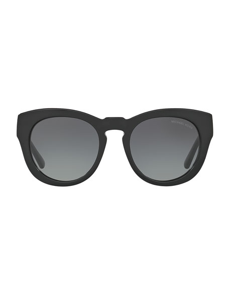 Chunky Gradient Cat-Eye Sunglasses