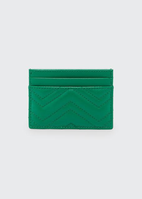 GG Marmont Matelasse Card Case