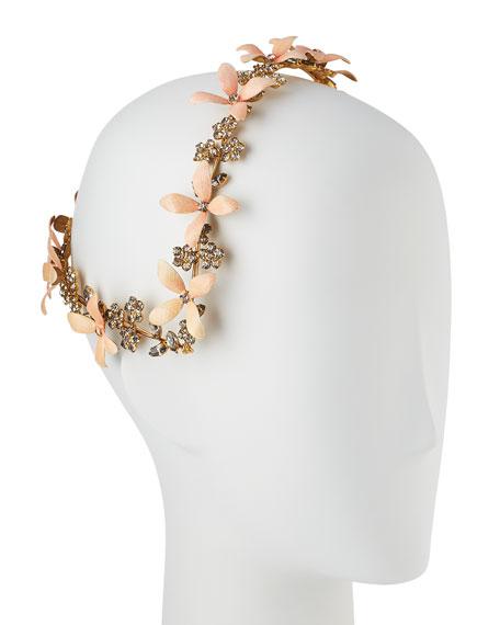Lillith Painted Flower Coronet Headband