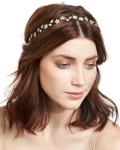 Calla Floral Circlet Headband