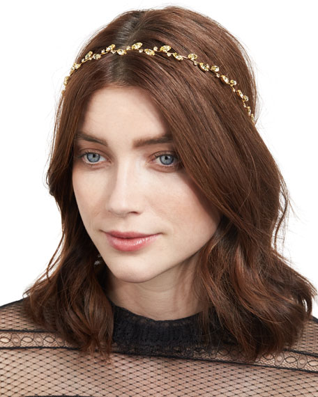 Carolina Leaf Circlet Headband