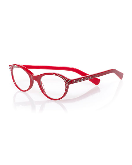 Soft Kitty Embellished Readers, Red